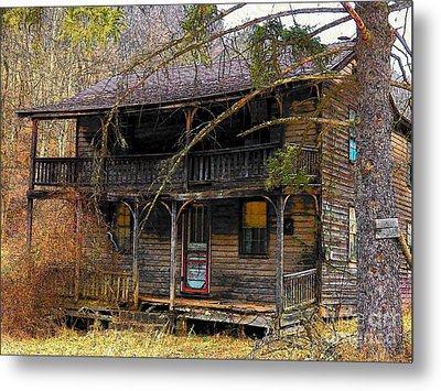 The Homestead Metal Print by Joyce Kimble Smith