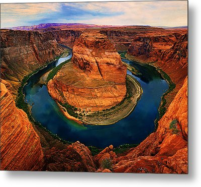 The Horseshoe Bend Metal Print by Daniel Chui