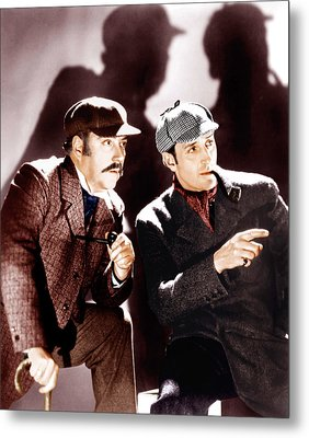 The Hound Of The Baskervilles Metal Print by Everett