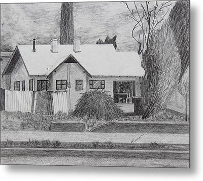 The House Across Metal Print by Kume Bryant