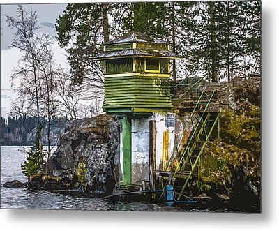 Metal Print featuring the photograph The Hut 2 by Matti Ollikainen