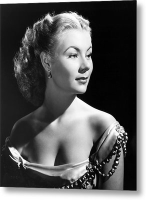 The I Dont Care Girl, Mitzi Gaynor Metal Print by Everett