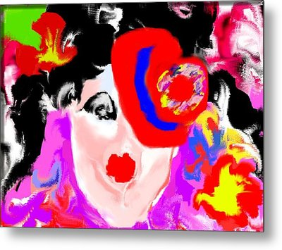 Metal Print featuring the digital art The Impersonator by Rc Rcd