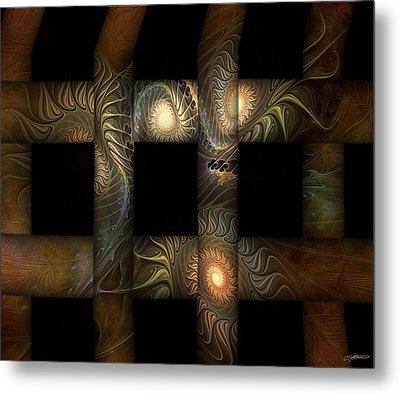 Metal Print featuring the digital art The Indomitability Of The Idea by Casey Kotas