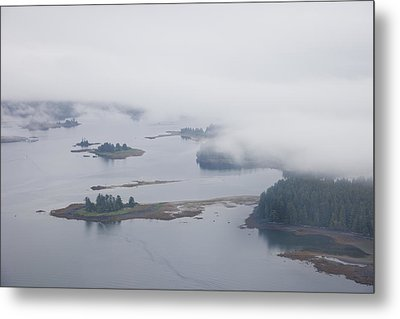 The Islands Of The Inside Passage Metal Print by Taylor S. Kennedy