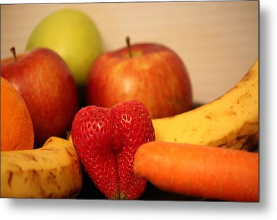 The Joy Of Fruit At Mid-day Metal Print by Andrea Nicosia