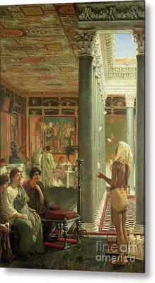 The Juggler Metal Print by Sir Lawrence Alma-Tadema