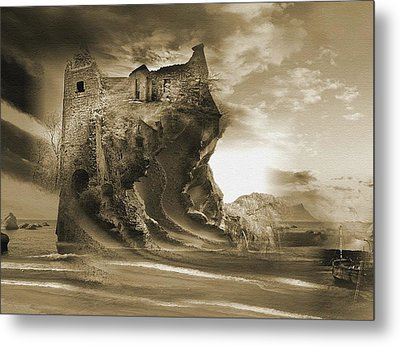 The Keep Metal Print by Yanni Theodorou