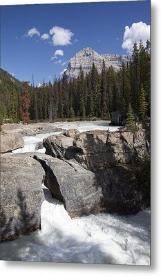 The Kicking Horse River Winds Metal Print by Taylor S. Kennedy