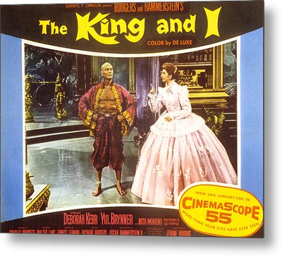 The King And I, Yul Brynner, Deborah Metal Print by Everett