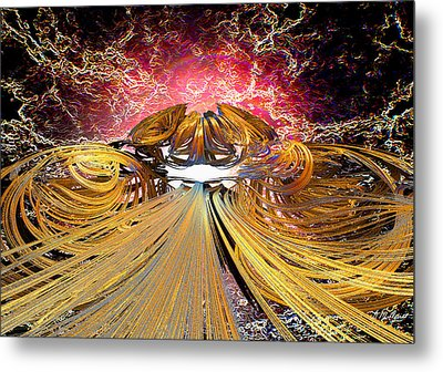 The Light At The End Of The Tunnel Metal Print by Michael Durst