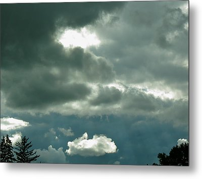 The Light Pours Out Of Me Metal Print