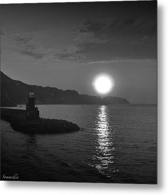 The Lighthouse Metal Print by Gianluca Sommella