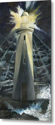 The Lighthouse Metal Print by Trister Hosang
