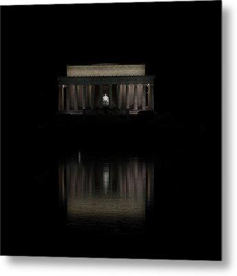 The Lincoln Memorial Metal Print by Kim Hojnacki