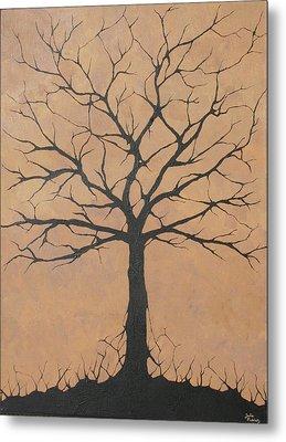 the Lindsey Tree Metal Print by Julia Raddatz