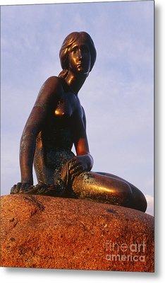 The Little Mermaid, Copenhagen, Denmark Metal Print by Jeremy Woodhouse