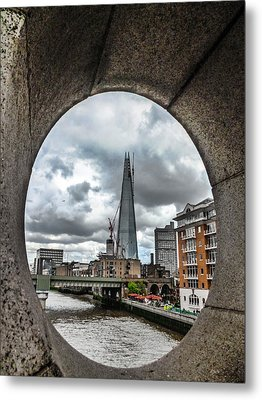 The London Shard Metal Print by Dawn OConnor
