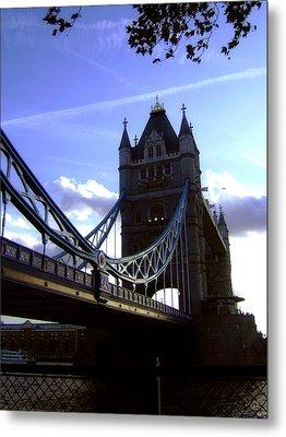 The London Tower Bridge Metal Print by Steve K