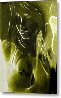 The Look Of Medusa Metal Print by Steve K