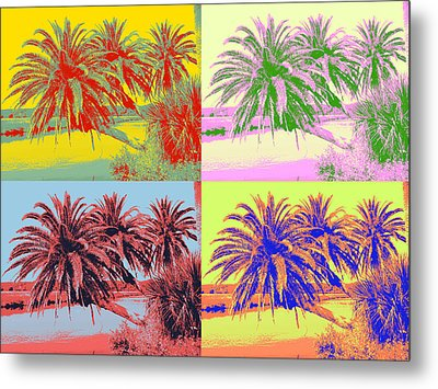 Metal Print featuring the photograph The Loop In Pop Art by Alice Gipson