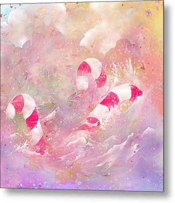 The Lost Candy Canes Metal Print by Rachel Christine Nowicki