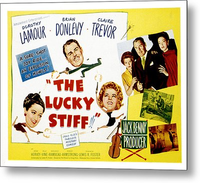 The Lucky Stiff, Brian Donlevy, Dorothy Metal Print by Everett