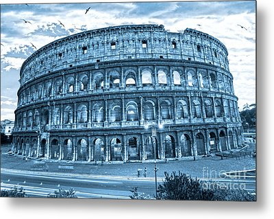 The Majestic Coliseum Metal Print by Luciano Mortula