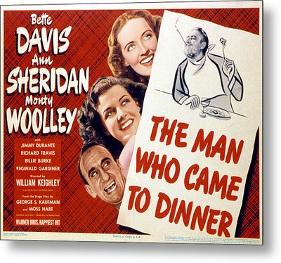The Man Who Came To Dinner, Jimmy Metal Print by Everett