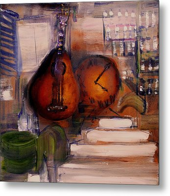 The Mandolin Metal Print by Evelina Popilian