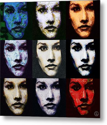The Many Faces Of Eve Metal Print by Gun Legler