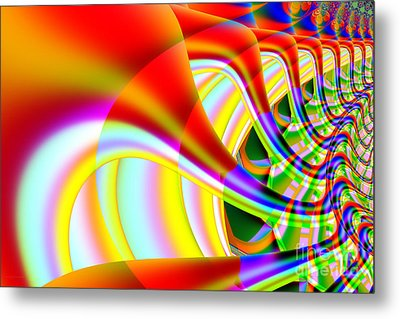 The Marching Band . S14 Metal Print by Wingsdomain Art and Photography