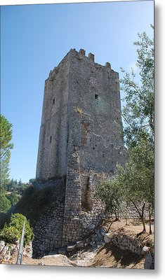 Metal Print featuring the photograph The Medieval Tower by Dany Lison
