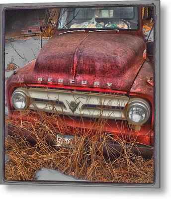 The Merc Metal Print by The Artist Project