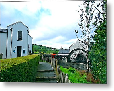 Metal Print featuring the photograph The Mill by Charlie and Norma Brock