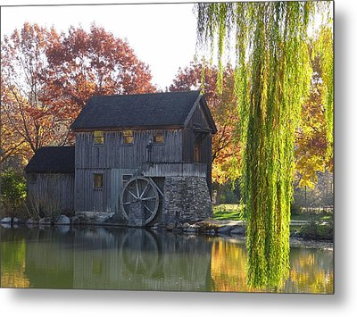 The Millhouse Metal Print by Julia Wilcox