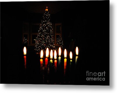 Metal Print featuring the photograph The Miracle Of Christmas by Linda Mesibov