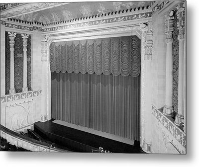 The Missouri Theater Building, View Metal Print by Everett