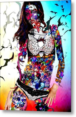 The Model Metal Print by Bogdan Floridana Oana