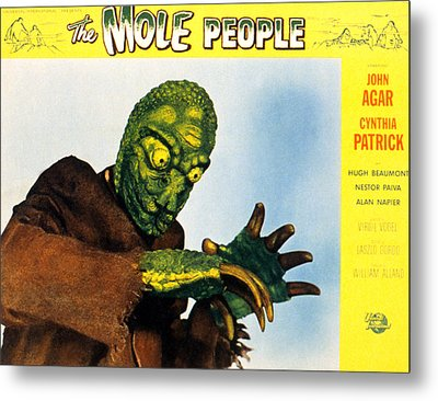 The Mole People, 1956 Metal Print by Everett