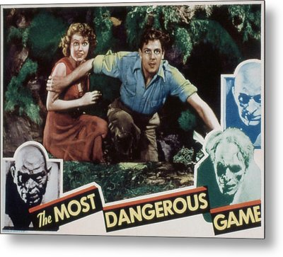 The Most Dangerous Game, Fay Wray, Joel Metal Print by Everett