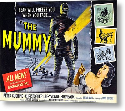 The Mummy, As The Mummy Christopher Metal Print by Everett
