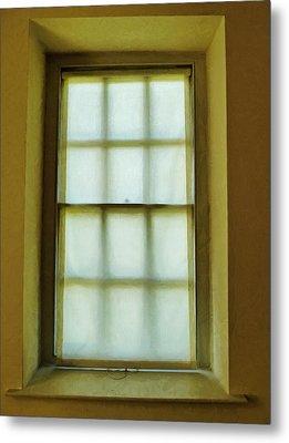 The Mustard Window Metal Print by Steve Taylor