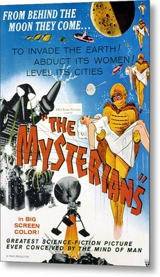 The Mysterians, 1959 Metal Print by Everett