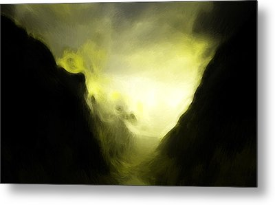 The Mystic Mountain Metal Print by Steve K