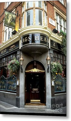 The Nags Head Pub Metal Print by Anne Gordon
