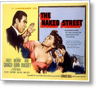 The Naked Street, Anthony Quinn, Anne Metal Print by Everett