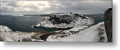 The Narrows - St. John's Harbour Metal Print by Max Buchheit Photography