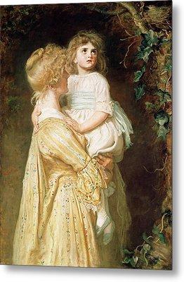 The Nest Metal Print by Sir John Everett Millais
