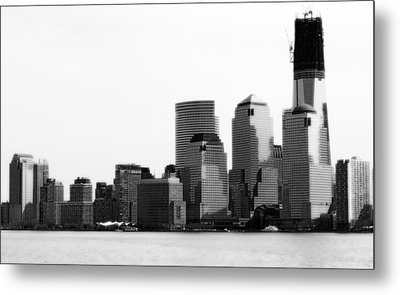 Metal Print featuring the photograph The New Skyline  by Raymond Earley